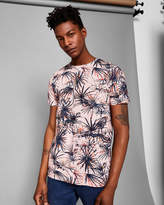 Ted Baker Tropical print cotton Tshirt