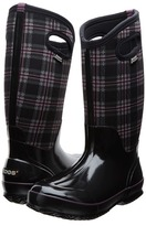 Bogs Classic Winter Plaid Tall Women's Shoes