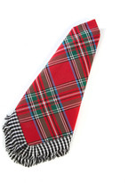 Mackenzie Childs Red Tartan Napkin