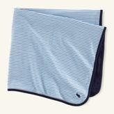 Ralph Lauren Striped Interlock Blanket