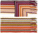 M Missoni - chevron knit scarf