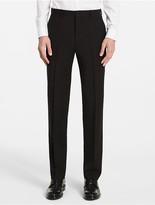 Calvin Klein X Fit Ultra Slim Fit Black Suit Pants