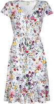 Yumi Curves Tie Waist Floral Dress