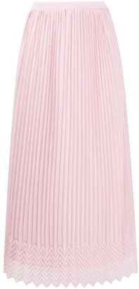 Marco De Vincenzo High Waisted Pleated Skirt