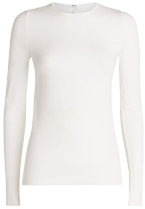 Wolford Viscose Pullover Long-Sleeved Top