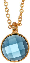 Melinda Maria Hunter London Topaz Pendant Necklace