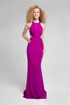 Terani Couture Stylish Sleeveless Open Back Dress 1715P2977