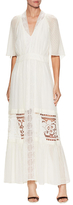 Temperley London Silk Embroidered Maxi Dress