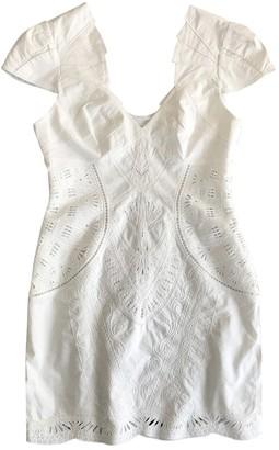 Karen Millen White Cotton Dresses