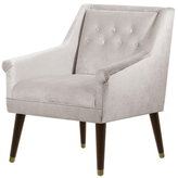 Skyline Furniture Modern Buttoned Chair