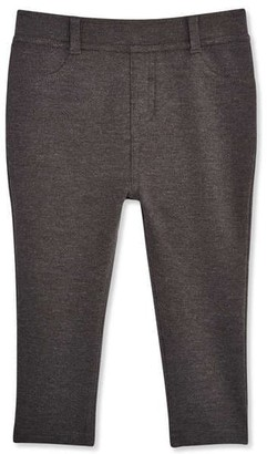 Joe Fresh Baby Girls Knit Pant, Charcoal Mix (Size 18-24)