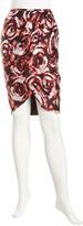 Lafayette 148 New York Rosette Tulip Skirt