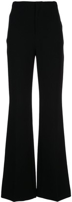 Alice + Olivia High Waist Flared Trousers