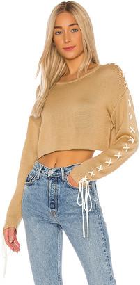 GRLFRND Ronnie Cropped Sweater