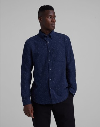 Club Monaco Nep Flannel Shirt