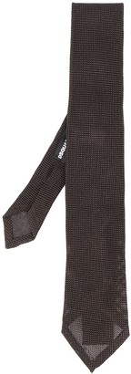 DSQUARED2 Woven Embroidered Tie