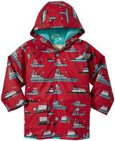 Hatley Ocean Liner Raincoat (Toddler/Kid) - Red - 5