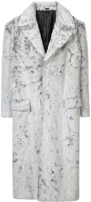 Versace Pre Owned Loose Long Coat