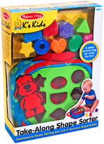 Melissa & Doug Kids' Take-Along Shape Sorter Toy