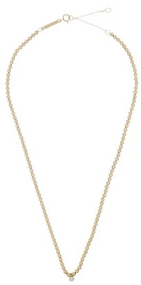 Zoë Chicco Diamond & 14kt Gold Beaded Necklace - Gold