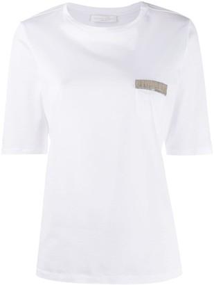 Fabiana Filippi chest pocket T-shirt