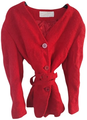 Genny Red Wool Jacket for Women