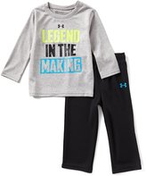 Under Armour Baby Boys 12-24 Months Legend In The Making Long-Sleeve Tee & Pant Set