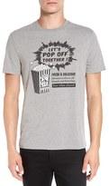 Original Penguin Men's 'Pete's Popcorn' Graphic Crewneck T-Shirt