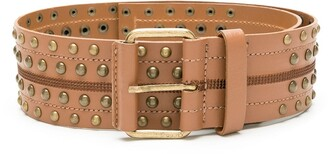 Nk Stud Leather Belt