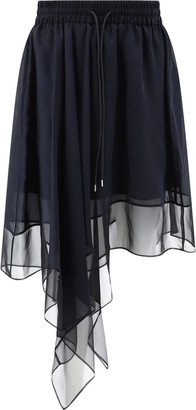 Sacai Asymmetric Skirt