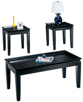 Signature Design by Ashley Delormy Three-Piece Table Set