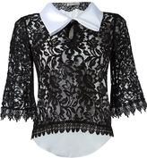 Martha Medeiros lace blouse