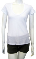 Relaxed Casual Tee In White