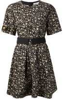 Marc Jacobs beaded sleeve floral dress