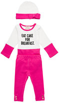 Kate Spade Layette eat cake for breakfast box set