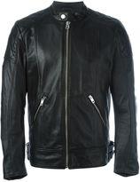 Diesel panelled zip up jacket