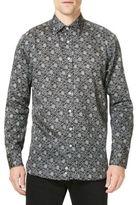 Etro Tree Print Casual Button Down Shirt