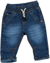 BabyTown Babies / Boys Elasticated Waist Denim Jeans / Trousers ~ 3 Months to 2 Years (3-6 Months, )