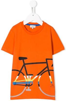 Paul Smith bike-print cotton T-shirt