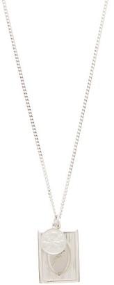 Miansai Bird Frame Sterling-silver Pendant Necklace - Silver