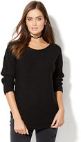 New York & Co. Shirttail Dolman Sweater