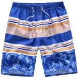 Kosbon Men's Swim Boardshorts Quick-dry Surf Beach Shorts Casual Sport Trunks. (XXL, )