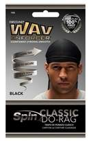 Firstline WavEnforcer Classic Do Rag - Black