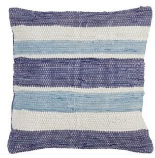 Saro Lifestyle Chindi Design Down Filled Throw Pillow