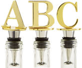 Pier 1 Imports Monogram Initial Bottle Stoppers