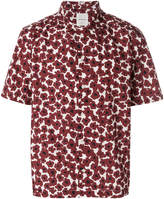 Wood Wood poppy print short sleeve shirt
