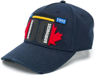 DSQUARED2 Canada embroidered baseball cap