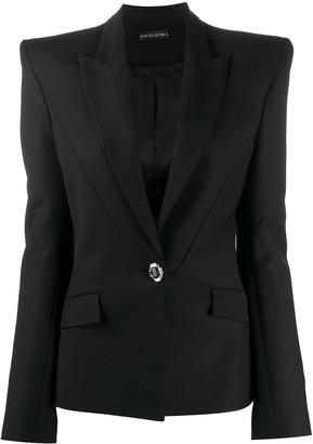 David Koma Embellished Long-Sleeved Blazer