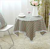 HOULIZHEN WE&ZHE Han Shilei sand cotton floral print round lace table cloth tablecloth