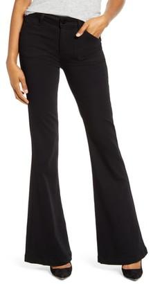 Paige Transcend - Genevieve High Waist Flare Jeans